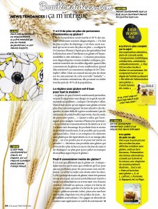 Vital Food magazine article sans gluten 3