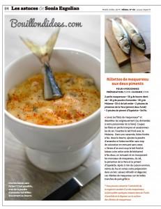 revue presse magazine Regal mars-avril 2015 sans gluten recettes 3  Bouillondidees