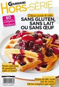 Hors-Série du magazine Gourmand, sans gluten, lait ou oeuf