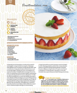 HS Marmiton Patisserie n1 recette Sans gluten Fraisier  Bouillondidees