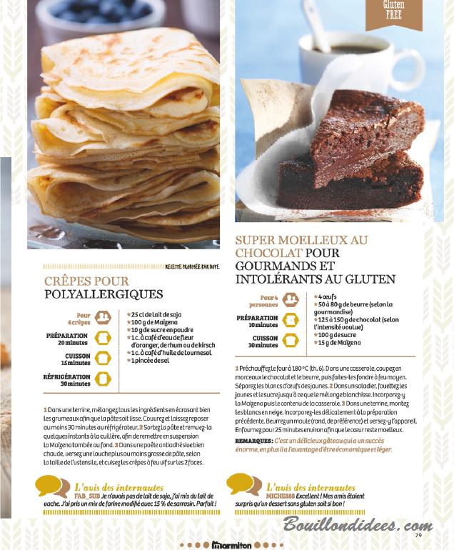 Revue Presse Sans Gluten Cie Le Hors Série Marmiton Pâtisserie
