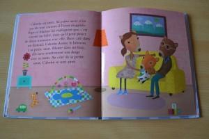 Livre Coin lecture Arrivée d'une petite soeur Cabotin 2 chut les enfants lisent Bouillondidees
