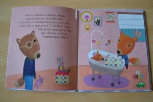 Livre Coin lecture Arrivée d'une petite soeur Cabotin 3 chut les enfants lisent Bouillondidees