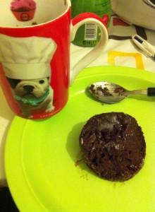 mug cake façon brownie petite alizée