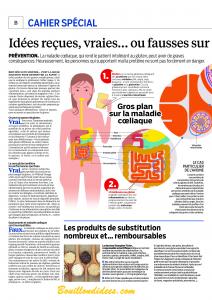 Cahier spécial Gluten Le Parisien Aujourd'hui en France p2 Bouillondidees