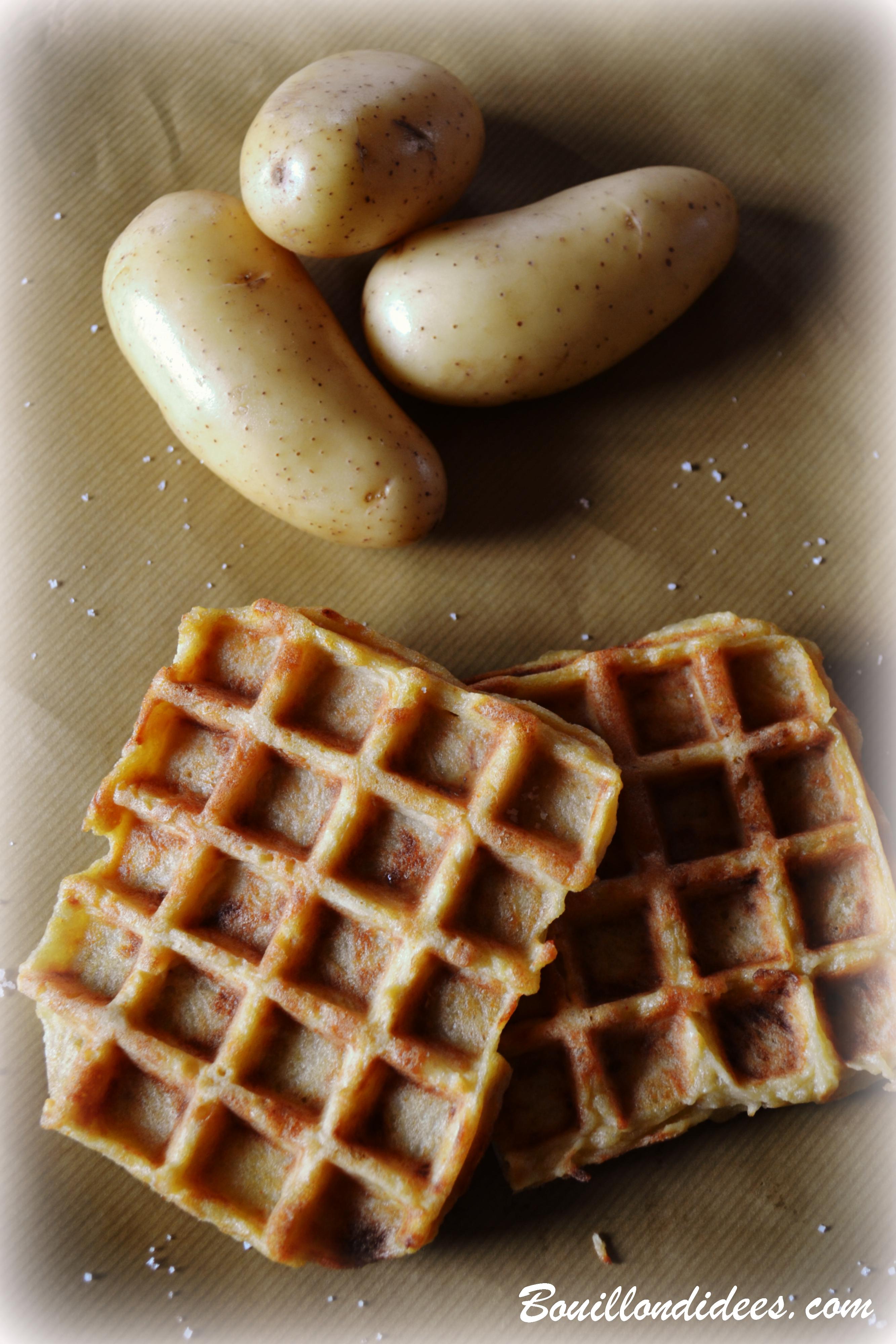 gaufres de pommes de terre sans glo gluten lait uf. Black Bedroom Furniture Sets. Home Design Ideas