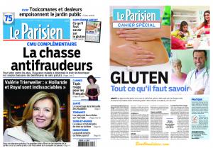 Supplément Gluten Le Parisien
