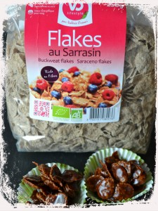 roses des sables chocolat Flakes pétales de Sarrasin sans GLO (sans gluten, lait, oeuf) VO Lifetsyle  Bouillondidees