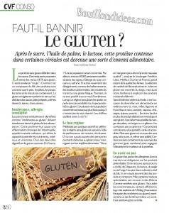 Cuisine et Vin de France sans gluten revue de presse Bouillondidees