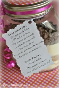 KIT Pot SOS Cookies cadeau fait maison maitresse fête des mères noël recettesBouillondidees