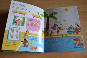Je trace et j'efface, en vacances (Editions Usborne)