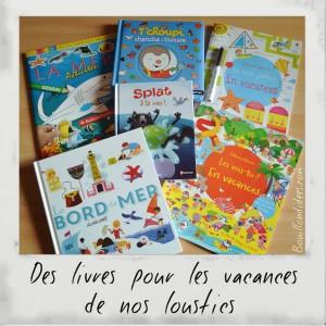 Livre Coin lecture spécial Vacances été mer chut les enfants lisent Bouillondidees