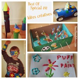 best of été Idées créatives bricolage enfant Bouillondidees