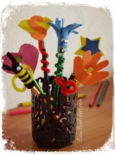 DIY Rentrée Customiser vos crayons Bouillondidees