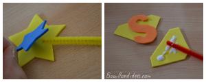 DIY Rentrée Customiser vos crayons avec feuille mousse étoile superrman Bouillondidees