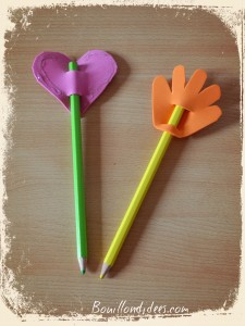 DIY Rentrée Customiser vos crayons avec feuille mousse Bouillondidees