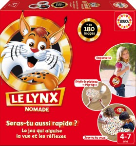 Le lynx en version nomade (Educa)