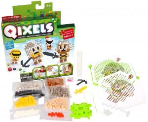 Les perles à repasser d'un nouveau genre, les Qixels (Kanaï Kids)
