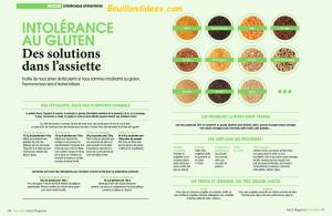 Revue Presse HS Santé Managzine Intolérances gluten lait 5 Bouillondidees