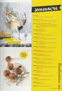 revue de presse HS Gourmand Sans gluten Sommaire