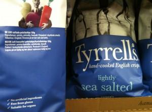 Chips Tyrells sans gluten & cie