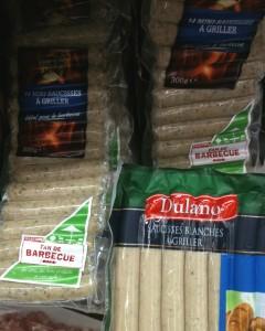 Saucisses blanches à griller, sans gluten, sans GLO, marque Dulano en vente à Lidl