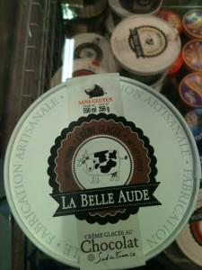 Glaces sans gluten La Belle Aude