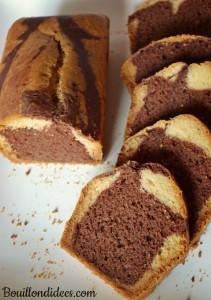 Marbré sans GLO (sans gluten, sans lait, sans oeuf) Bouillondidees
