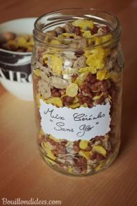 Mix céréales Maison petit déjeuner sans gluten Bouillondidees