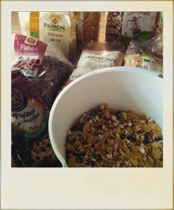 Mix céréales Maison sans gluten préparation Bouillondidees