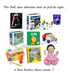 NOEL wishlist 2015 TOP des cadeaux garçon 6 ans et bébé fille 6 mois