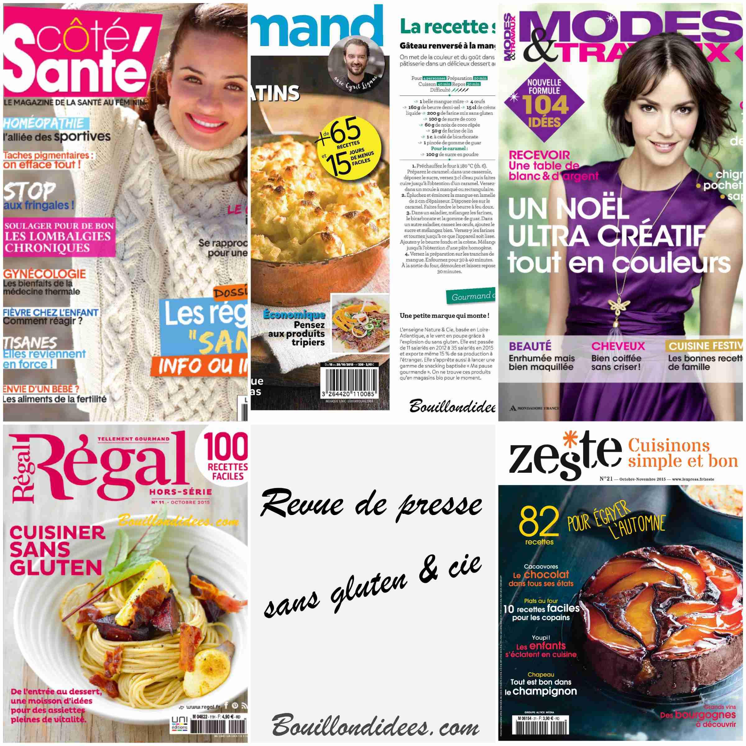 Revue de presse 21 sans gluten cie bouillon d 39 id es for Revue de www houseplans com