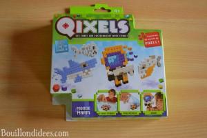 Test Qixels des perles à repasser sans fer, avec de l'eau Bouillondidees