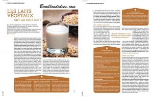 Zeste 21 octnov laits végétaux