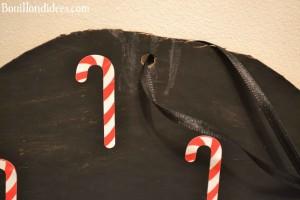 calendrier de l'avent - bonhomme de neige (DIY Noël) à accrocher