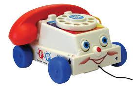 Le téléphone Vintage Fisher Price (Kanaï Kids) (Top cadeau Bébé Noël)