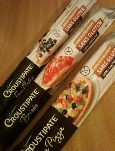 Test pâtes sans gluten sans lactose de Croustipate sans GLO (sans gluten lait oeuf) Bouillondidees