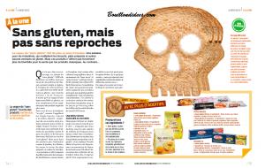 60 millions Consommateurs sans gluten P1 2