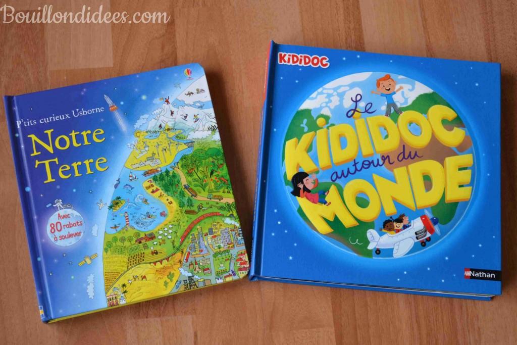 Des livres pour découvrir le monde