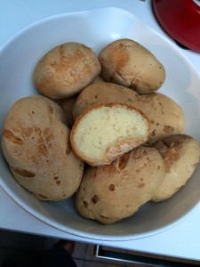 petits pains blancs rapides sans gluten Liline H