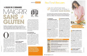 santé magazine maigrir sans gluten 1-2