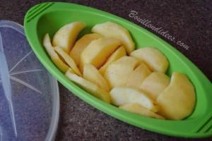 La P'tite papillote pour bébé Mastrad Baby compotes de pommes