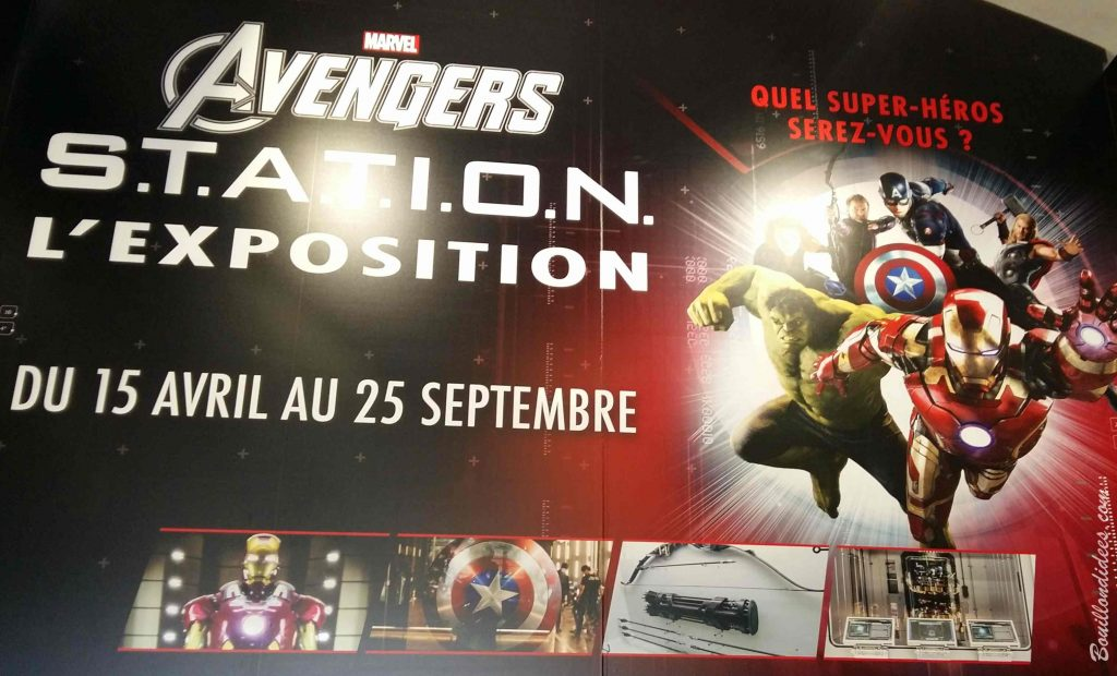 Avengers Station exposition La Defense Paris 2016