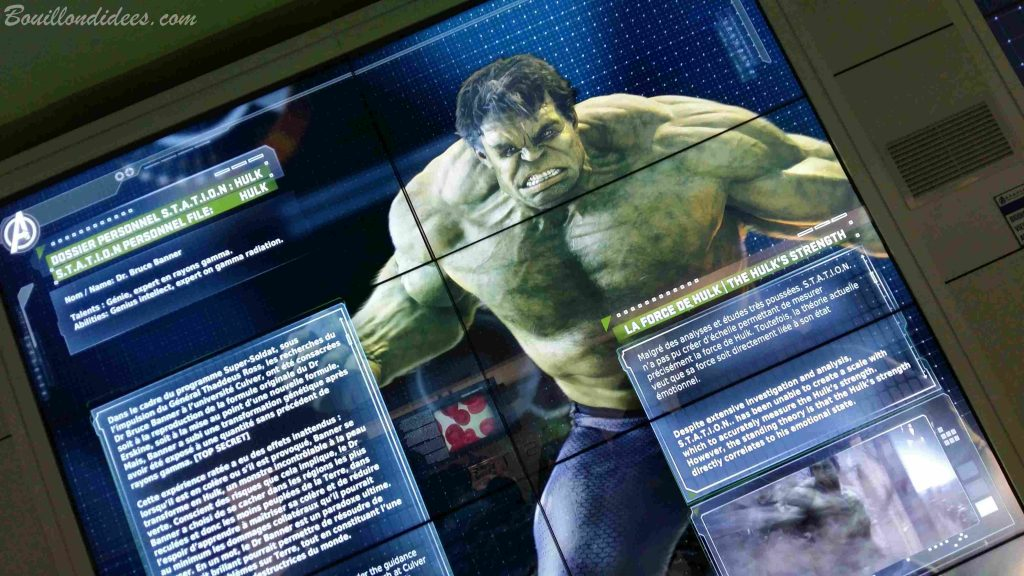 Marvel Avengers Station exposition La Defense Paris 2016 Hulk