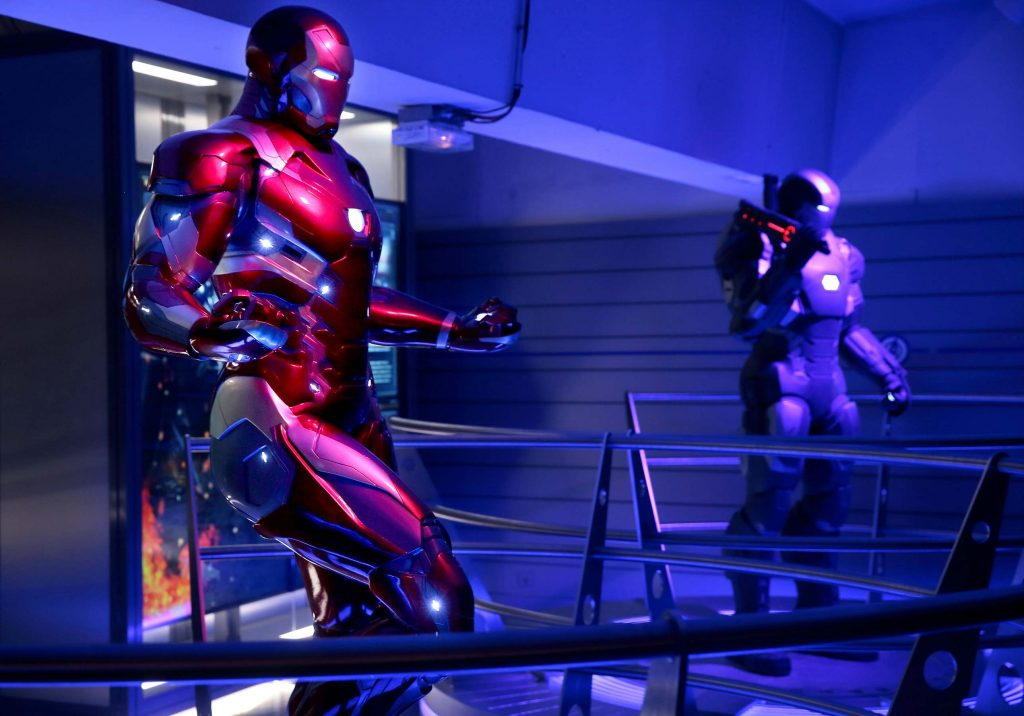 Avengers Station exposition La Defense Paris 2016 Iron man