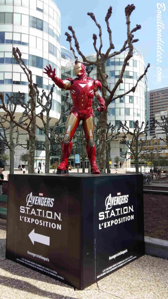 Avengers Station exposition La Defense Paris 2016 entrée