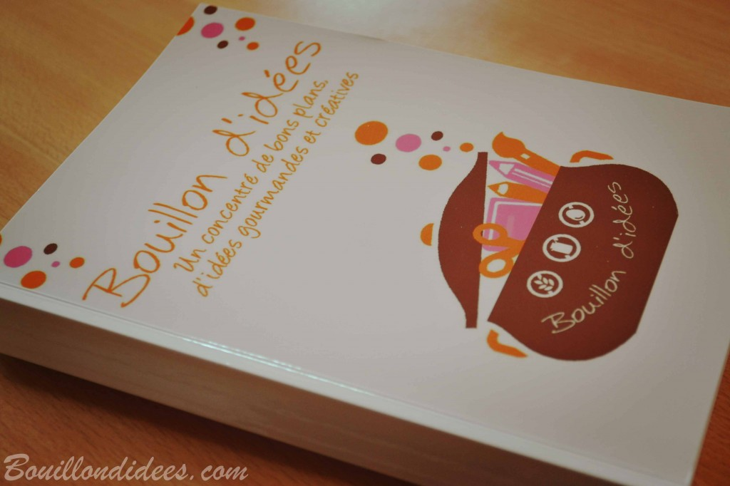 Blook, le livre du blog Bouillondidees via Blookup