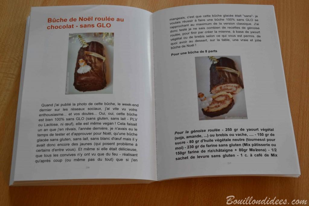 Blook, le livre du blog Bouillondidees via Blookup recette noel