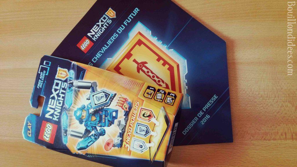 Lego Nexo Knights nouveauté lego chevalier