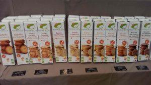 coup de coeur SAAPS (salon des allergies alimentaires et produits sans) Nature & cie sans gluten